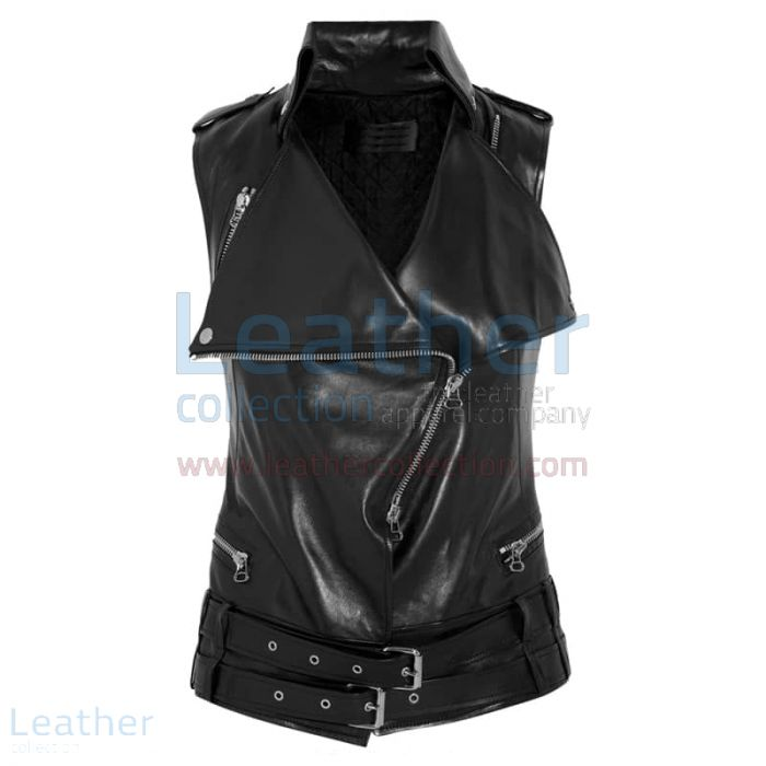 Pick up Smart Ladies Leather Vest for SEK1,311.20 in Sweden