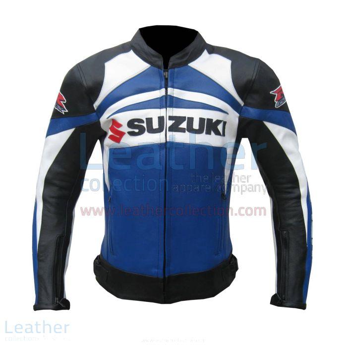 Suzuki GSXR Leather Jacket – Suzuki Leather Jacket | Leather Collection