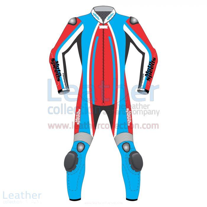 Track Leder Rennanzug | Auf Bestellung Leathers von MotoSpeeds