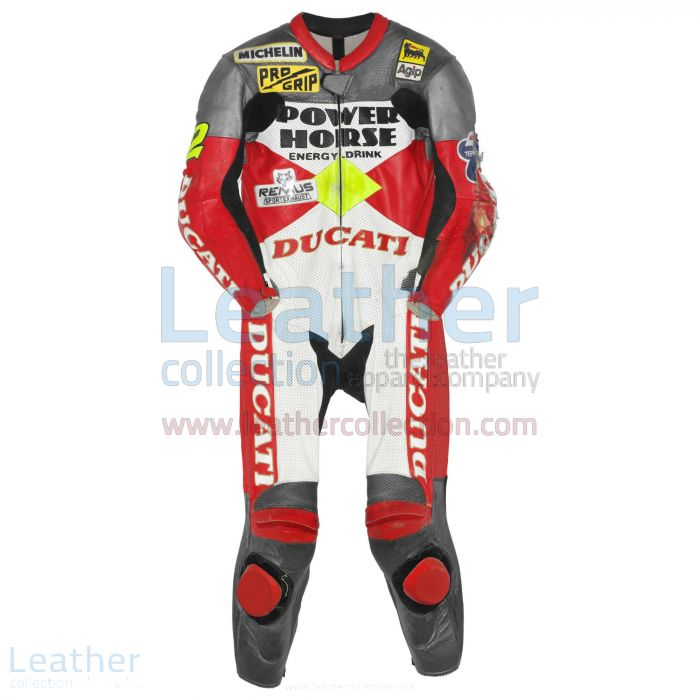 Schnappen Sie sich jetzt Troy Corser Ducati WSBK 1996 Lederanzug €77