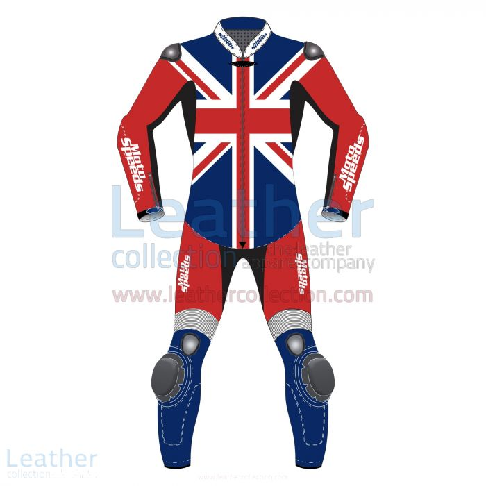 Claim Now United Kingdom Flag Motorcycle Riding Suit for ¥89,600.00 i