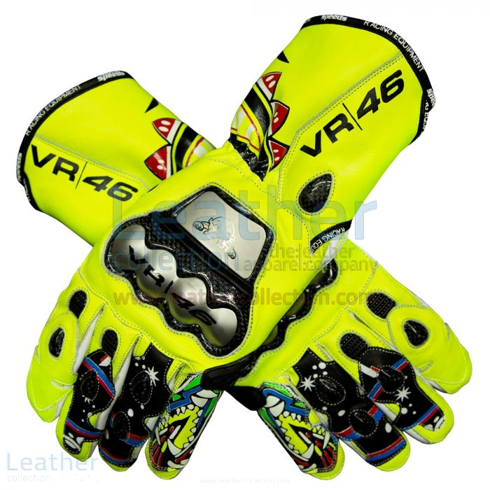 ¥25,200.00オンラインバレンティーノ・ロッシ2010オートバイの手袋、それを選択してください