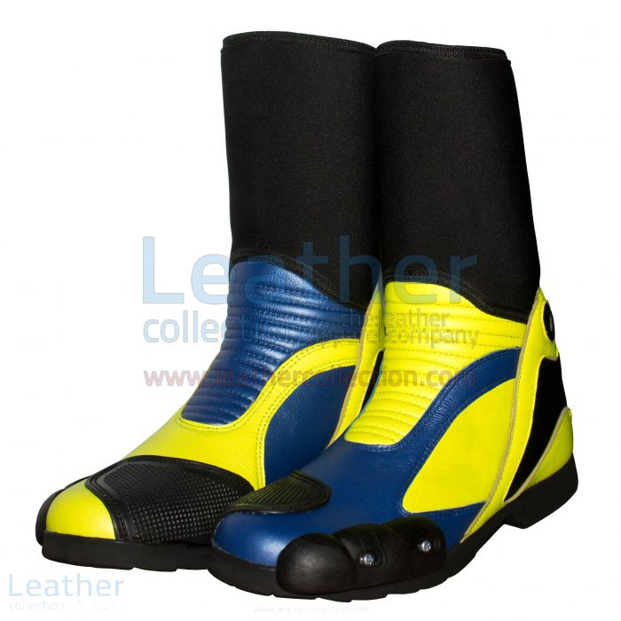 Shop for Valentino Rossi 2014 Motorcycle Race Boots for SEK2,200.00 in