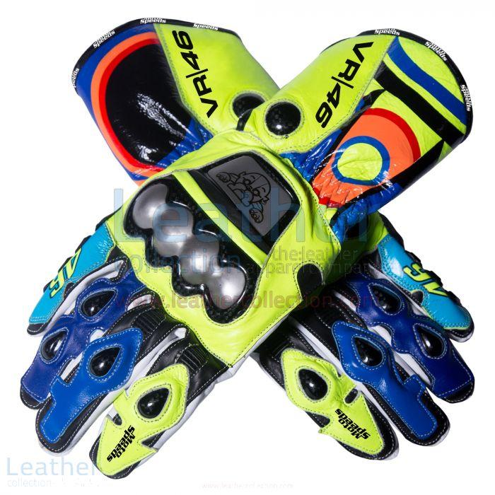 今¥28,000.00私のためのバレンティーノ・ロッシ2016年MotoGPクラスのレース手袋を提供