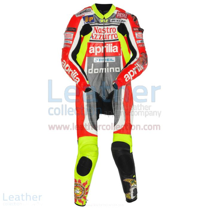 Offering Valentino Rossi Aprilia GP 1999 Leathers for $899.00