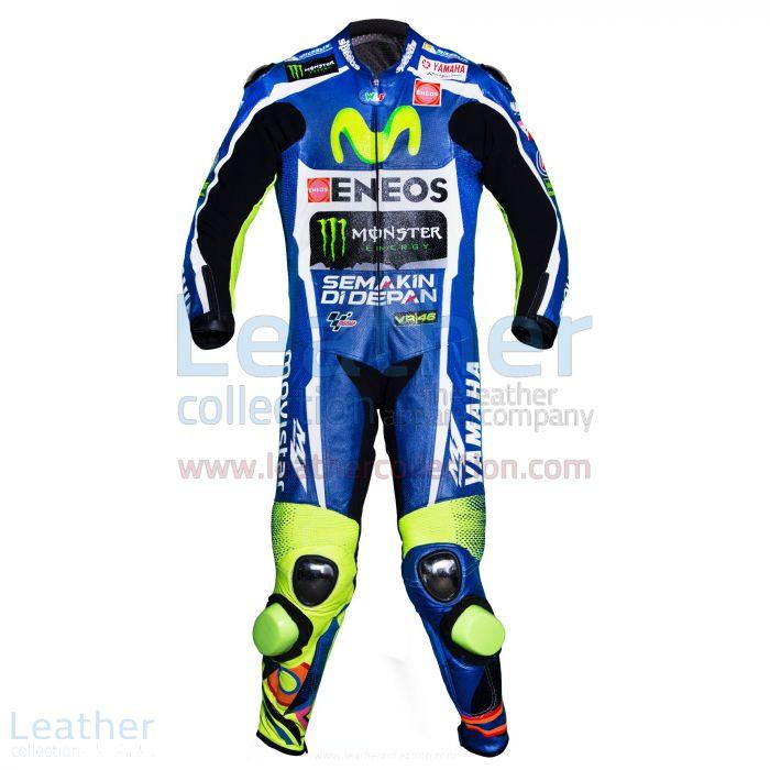 Kauf Valentino Rossi Movistar Yamaha Le Mans MotoGP 2016 Anzug €773.