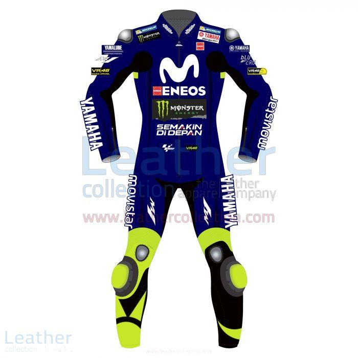 Shop Valentino Rossi Movistar Yamaha Losail Circuit MotoGP 2018 Suit f