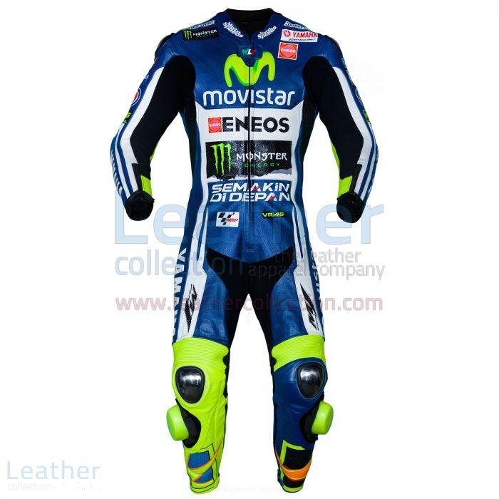 Customize Online Valentino Rossi Movistar Yamaha M1 MotoGP Leathers fo