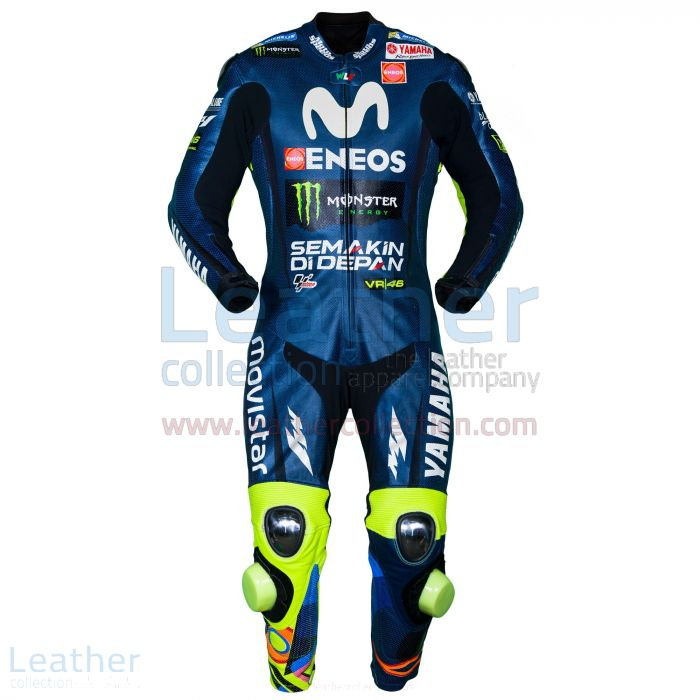 Pick up Online Valentino Rossi Movistar Yamaha MotoGP 2018 Race Suit f