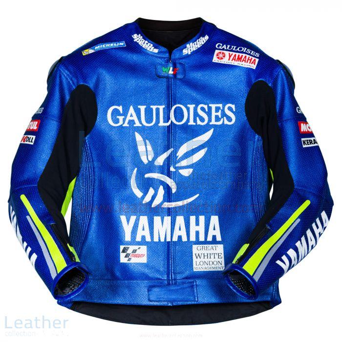 Agarrar en línea Valentino Rossi Yamaha MotoGP 2005 Chaqueta de cuero