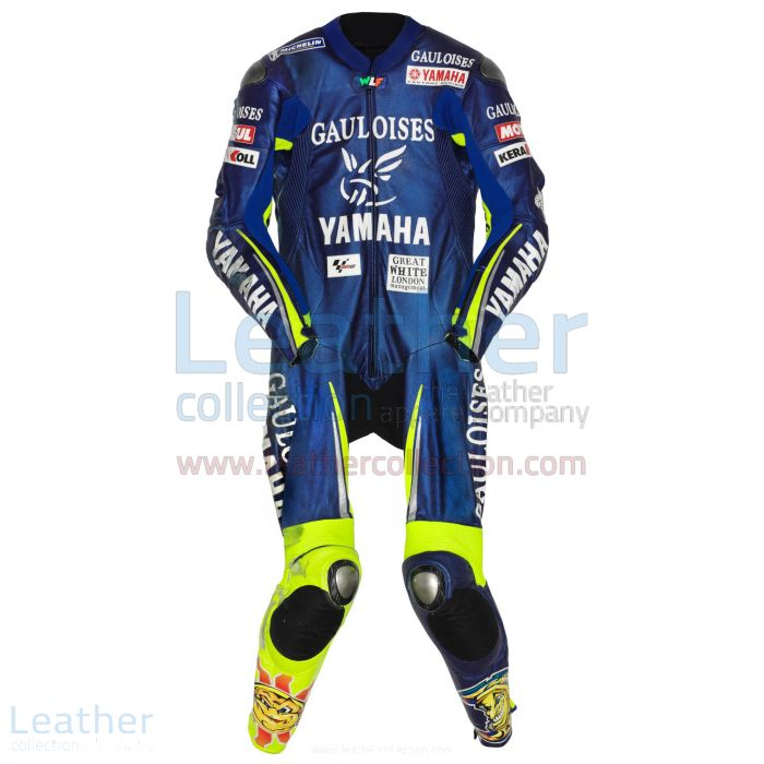 Pick Valentino Rossi Yamaha MotoGP (Spain) 2005 Leathers for CA$1,177.