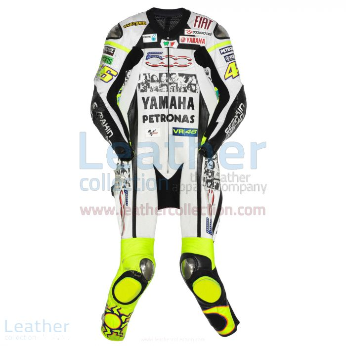 Order Now Valentino Rossi Yamaha Petronas MotoGP 2010 Suit for $899.00
