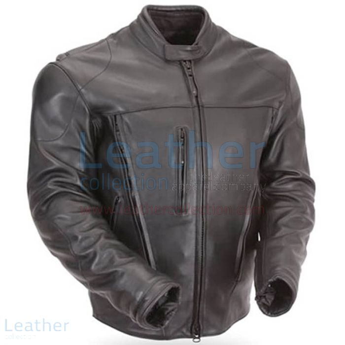 Protective Leather Motorcycle Jacket | Buy Now | Leather Collection