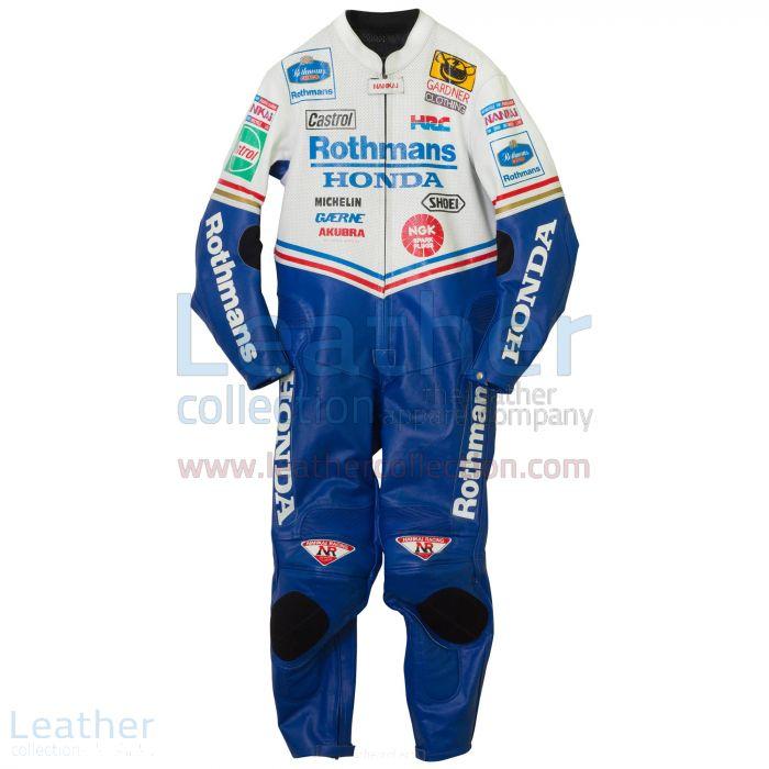 Get Online Wayne Gardner Rothmans Honda GP 1992 Leathers for ¥100,688