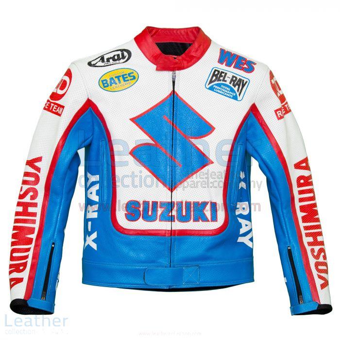 Jetzt kaufen Wes Cooley Yoshimura Suzuki AMA Rennen Jacke