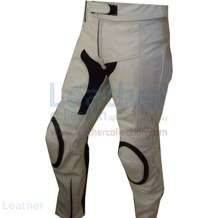 Motorcycle Touring Pants – White Touring Pants | Leather Collection