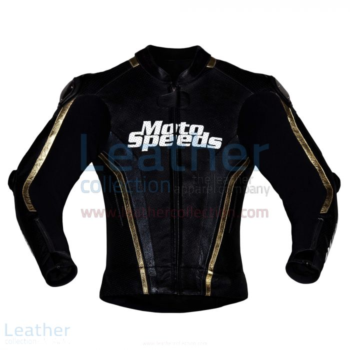 Protective Gears | Whiz Tech Leather Motorcycle Jacket | Moto Speeds