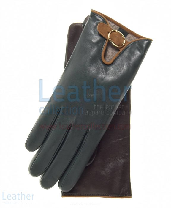 Get Online Wool Lined Buckled Gloves for Ladies for SEK484.00 in Swede