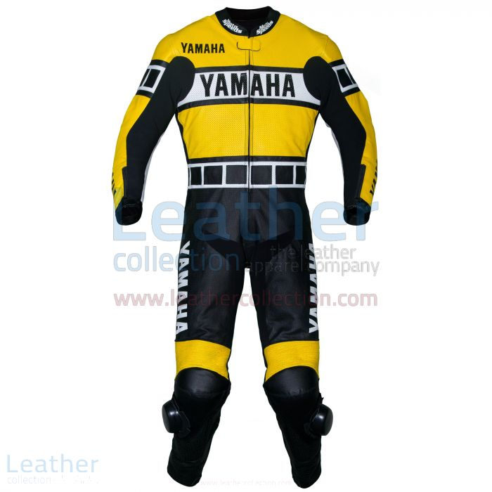 Einkaufen Yamaha Renn Leder Anzug Gelb