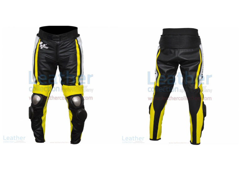 Ben Spies Yamaha Monster 2010 Motorbike Leather Pants