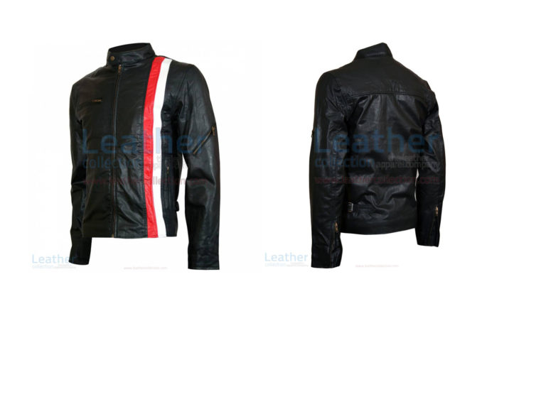 X-MEN CYCLOPS BIKER STYLE LEATHER JACKET