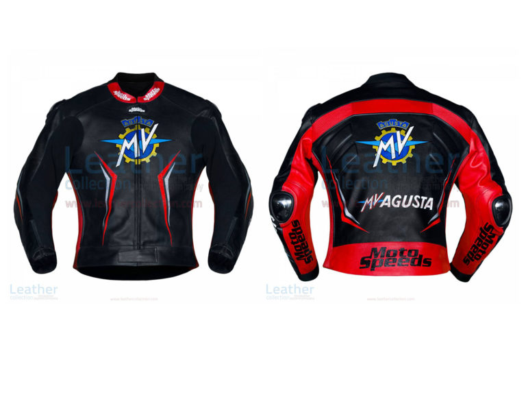 MV Agusta 2017 Motorcycle Leather Jacket