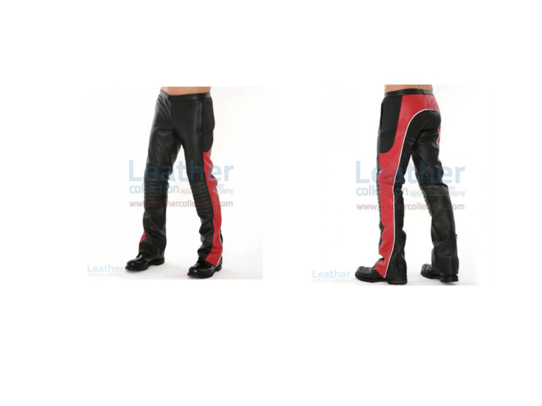 LEATHER MOTOCROSS RACING PANTS