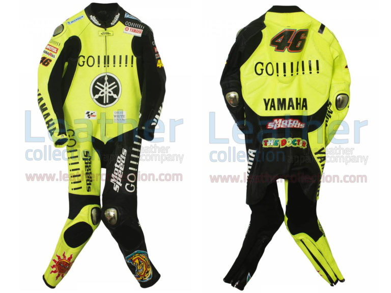 Valentino Rossi Winter Test Yamaha MotoGP 2005 Suit