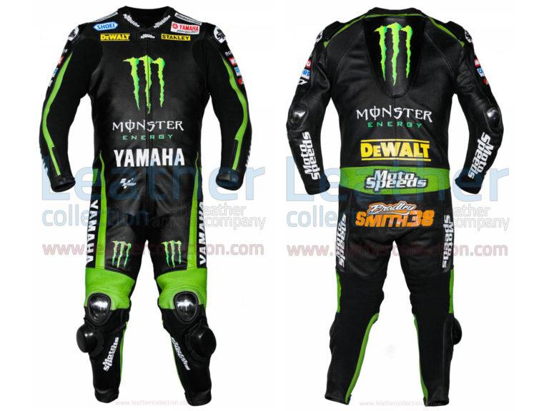 Bradley Smith Yamaha Monster 2015 Leathers