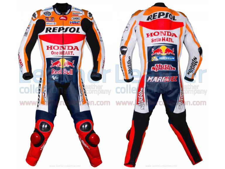 Marc Marquez HRC Honda Repsol MotoGP 2017 Race Suit