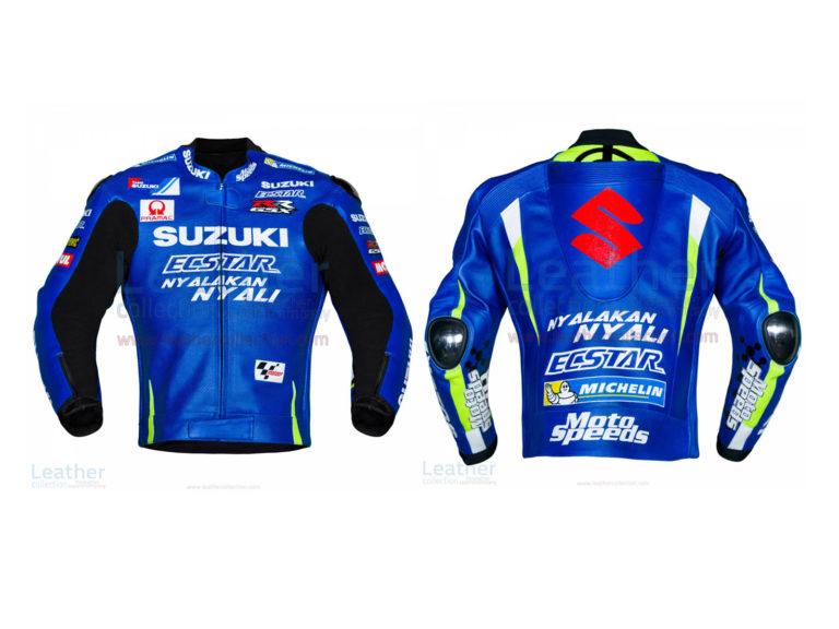 Andrea Iannone Suzuki MotoGP 2017 Leather Jacket