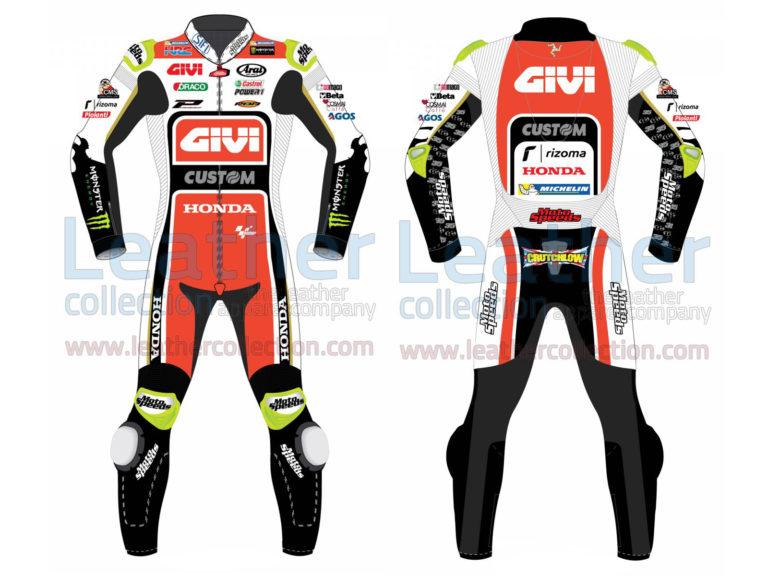 Cal Crutchlow LCR Honda 2017 MotoGP Race Suit