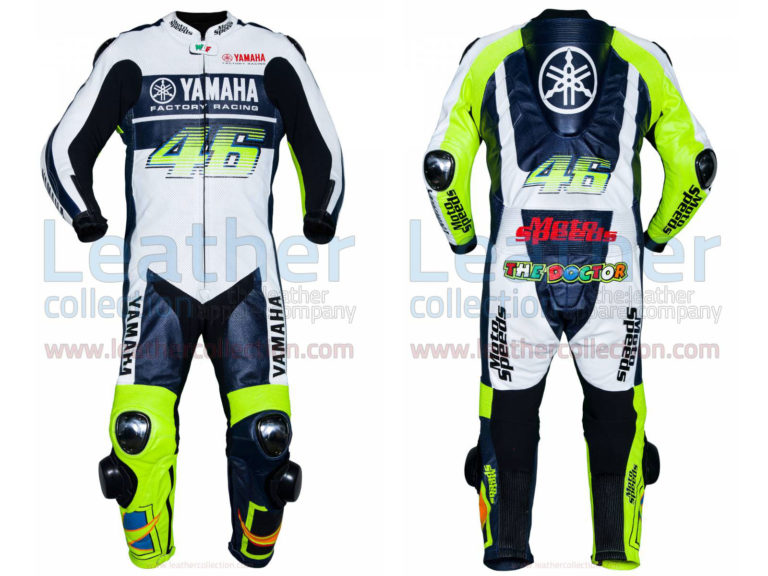 Valentino Rossi VR46 Yamaha Leather Suit