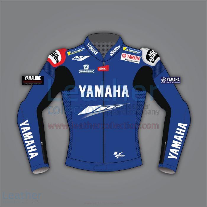 JORGE LORENZO YAMAHA LEATHER MOTORCYCLE JACKET MOTOGP 2020