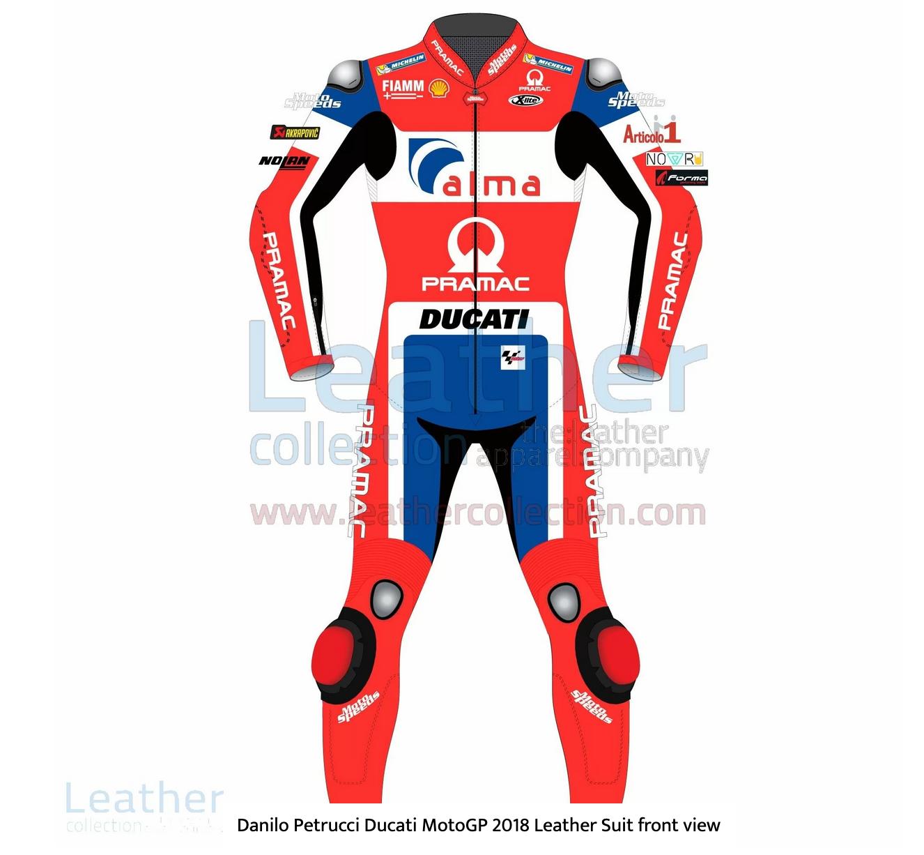 Danilo Petrucci Ducati MotoGP 2018 Leather Suit