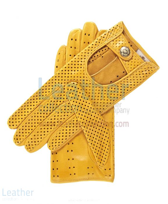 VENTILATED SUMMER DRIVING GLOVES WOMEN