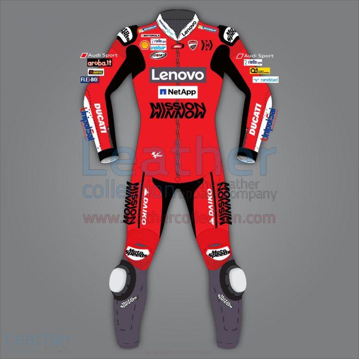 ANDREA DOVIZIOSO DUCATI RACING LEATHERS MOTOGP 2020