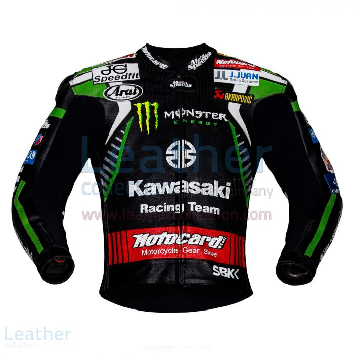 LEON HASLAM KAWASAKI MONSTER JACKET WSBK 2019