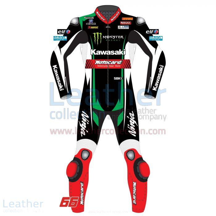 TOM SYKES MOTORCYCLE SUIT KAWASAKI WSBK 2017