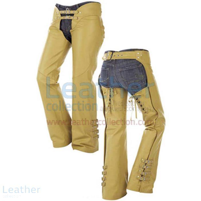 Leather Cowboy Chaps