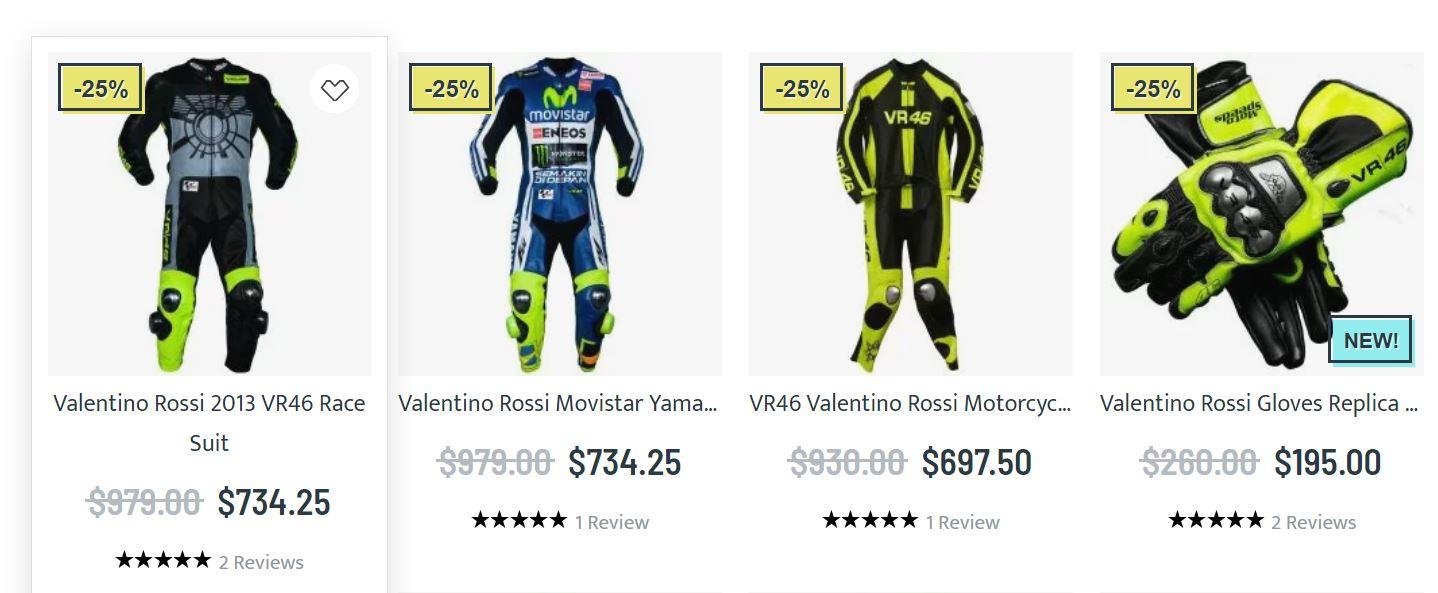 Valentino Rossi Merchandise