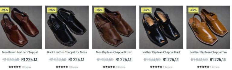 Chappals Online for mens