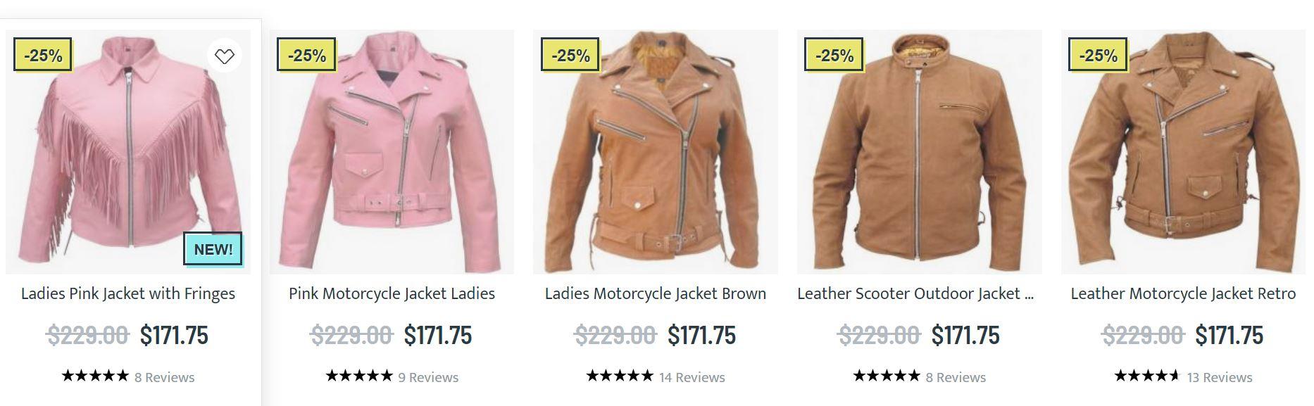 Leather Touring Jacket