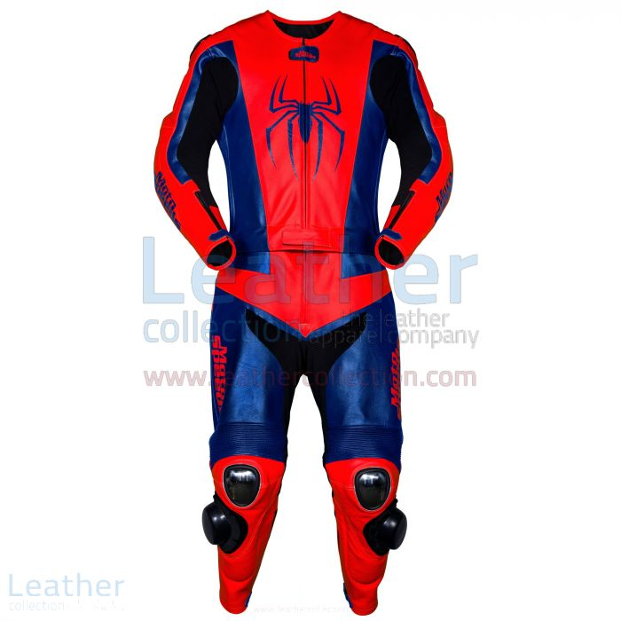 Spiderman leather suit