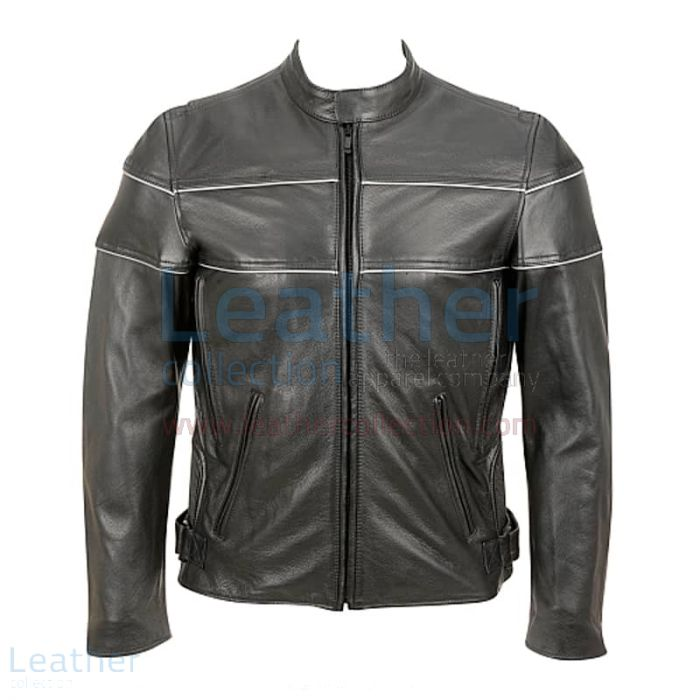 Reflective motorcycle jackets