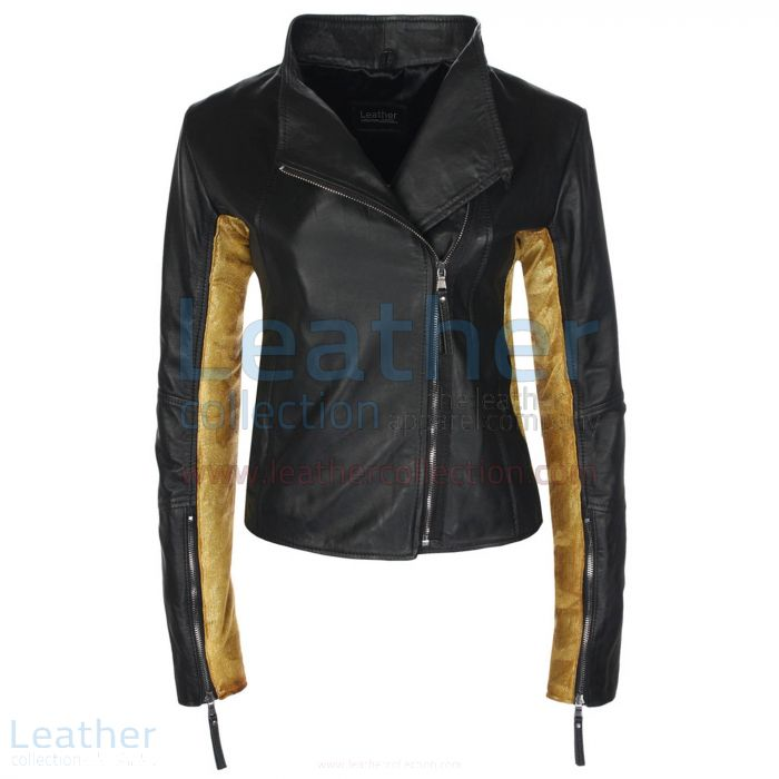 Leather shirt for women