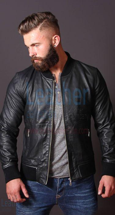 Heritage leather jacket