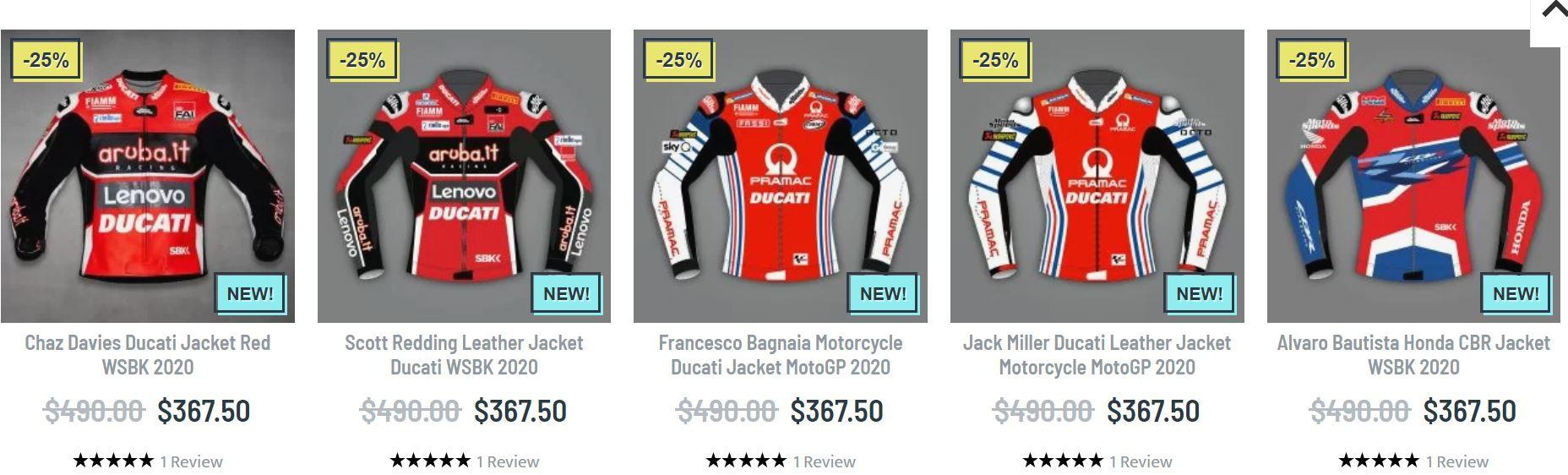 Motogp racing jacket