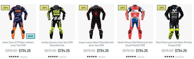 Motogp race leathers